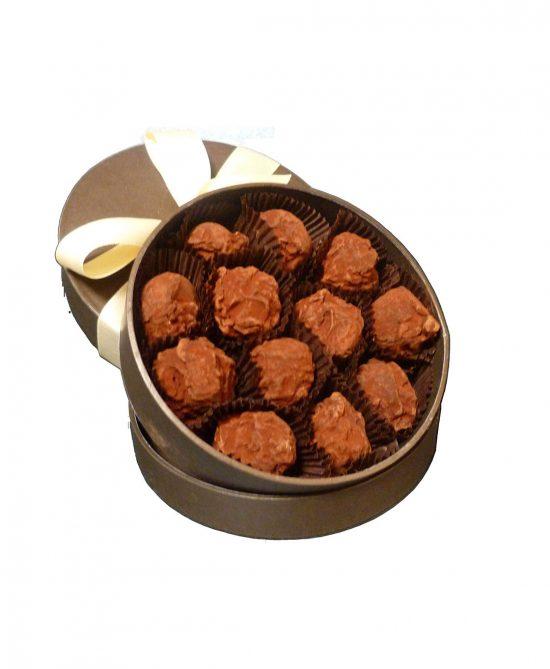 caja 12 trufas clasicas serge thiry chocolates de autor 550x669 - Caja 12 trufas clásicas