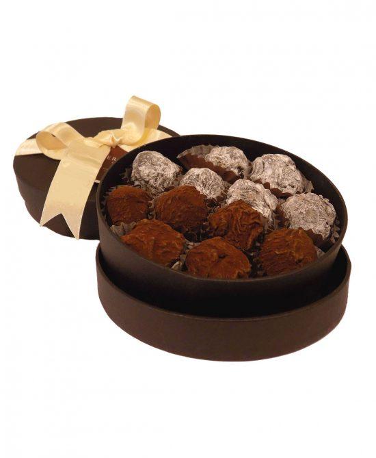 caja 12 trufas mixtas serge thiry chocolates de autor