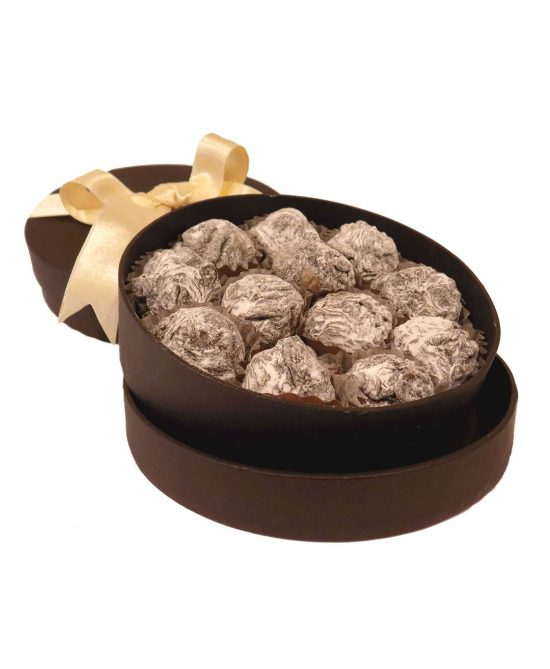 caja 12 trufas praline serge thiry chocolates de autor 550x669 - Caja 12 trufas praliné