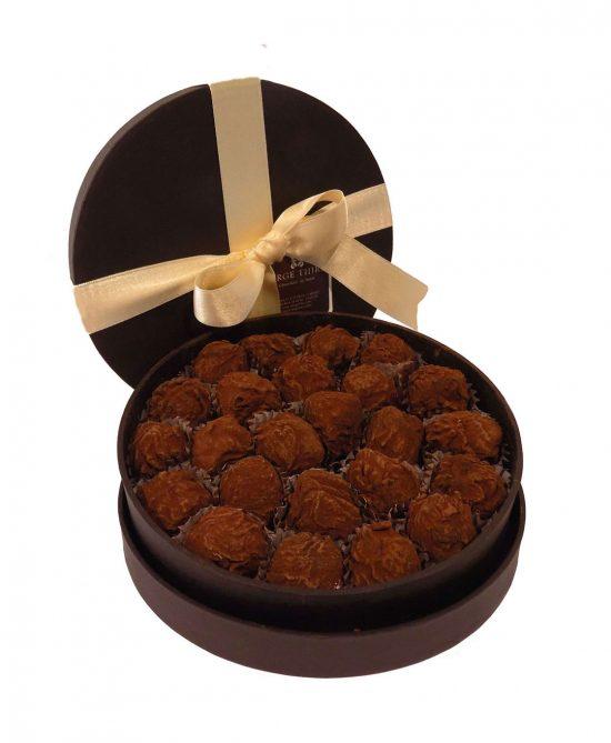 caja 24 trufas clasicas serge thiry chocolates de autor 550x669 - Caja 24 trufas clásicas