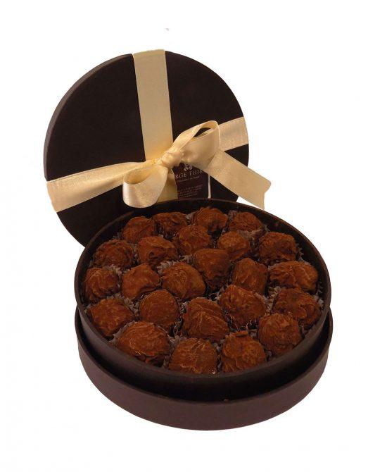 caja 24 trufas clasicas serge thiry chocolates de autor 550x670 - Caja 24 trufas clásicas