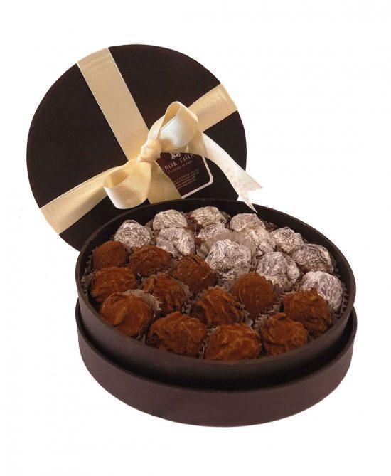 caja 24 trufas mixta serge thiry chocolates de autor