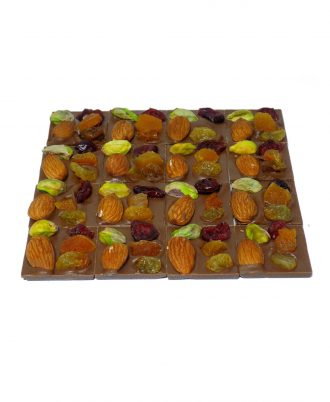 02 mendiants leche serge thiry chocolates de autor 330x402 - Mendiants de Chocolate de Leche