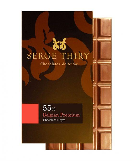 B80 55 Web 1120 550x670 - Chocolate Negro 55% Belgian Premium
